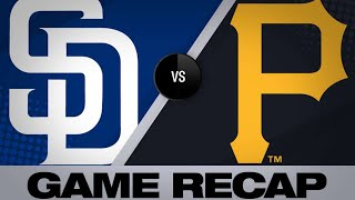 Pirates rally twice in walk-off win | Pirates-Padres Game Highlights 6/23/19