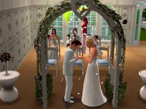 Гуляем свадьбу симов / Бесплатный каталог цифровых иллюстраций