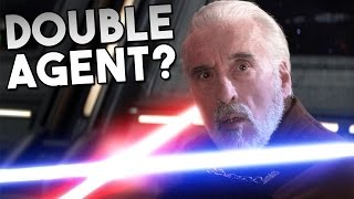 Was COUNT DOOKU a DOUBLE AGENT? | Star Wars Theory - Jon Solo