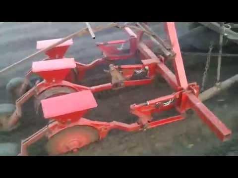 Самодельная сеялка на трактор