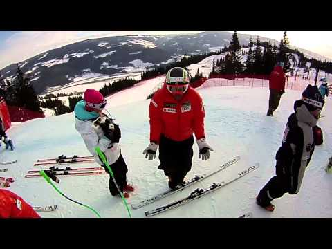 Canadian Alpine Ski Team in Kvitfjell