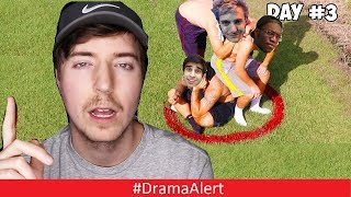Mr Beast is Making YouTubers stand in a Circle for $100,000! #DramaAlert Ninja Trolled by DRAKE!!!