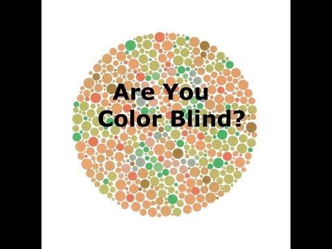 Colour blind