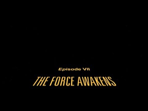 All 7 Star Wars Opening Crawls (HD)