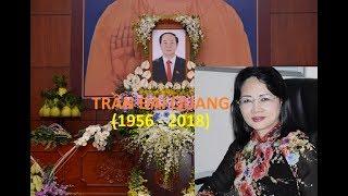 Bí mật lá thư của CTN Trần Đại Quang và Tiểu sử bà Đặng Thị Ngọc Thịnh