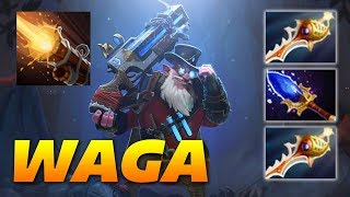 WAGA Sniper | Aghanim's + Rapiers | Dota 2 Pro Gameplay