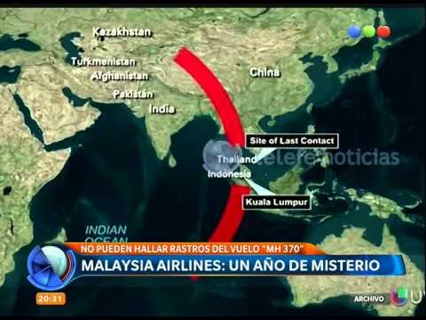 Malaysia Airlines: un año de misterio - Telefe Noticias