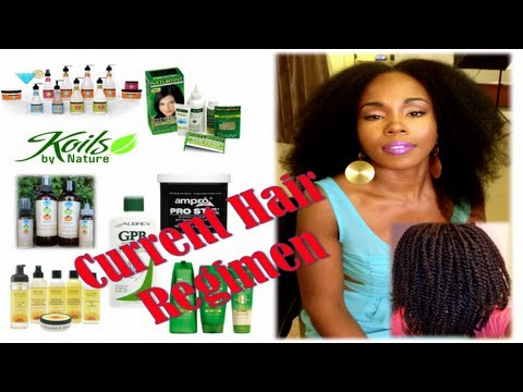 Natural Hair Regimen: Moisturizing