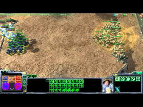 Breaking Siege Tank Lines in TvT - Starcraft 2 Beginner's Tutorial