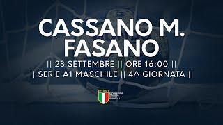 Serie A1M [4^]: Cassano Magnago - Fasano 38-19