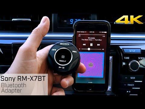 Sony RM-X7BT Bluetooth Adapter - Add Bluetooth to Your Car!!!