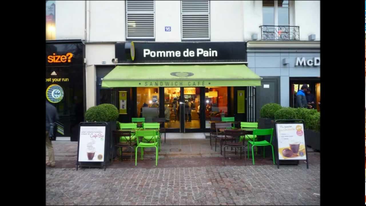 Pomme de pain 16 rue berger 75001 paris 11 mars 2013 youtube - Pomme de pain marseille ...