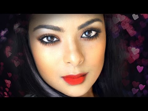 Sexy Date Night Makeup - 1 Eyeshadow Tutorial (copper Eyeshadow) For Brown Girls   Indian Skin video