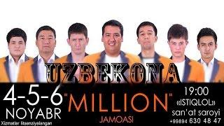 Million Jamoasi 2013 Konsert dasturi | To'liq