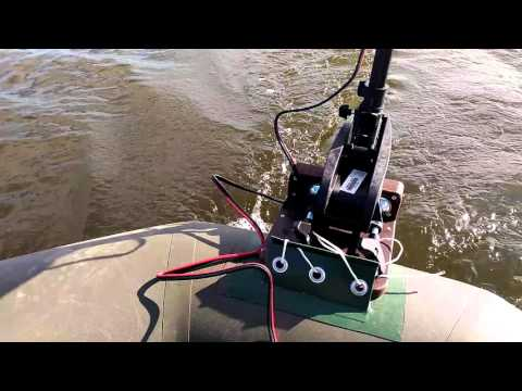 видео с лодочными электромоторами