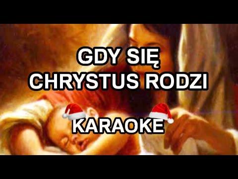 Kolędy - Gdy Się Chrystus Rodzi [karaoke/instrumental] - Polinstrumentalista