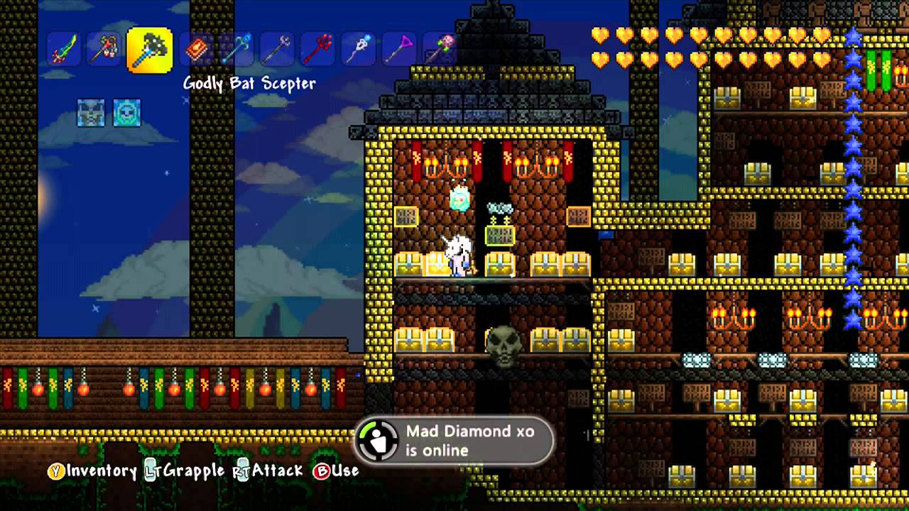how to make wings in terraria xbox 360
