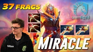 Miracle Ember Spirit 37 Frags [EPIC RAPIER GAME] | Dota 2 TOP MMR