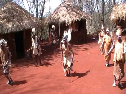 Kikuyu Tribal Dance - Aberdares National Park, Kenya video