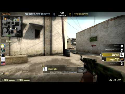 CSGO: Playing With Global Elites As a Gold Nova 2