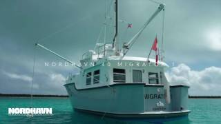 "Nordhavn video: N40 ""Migrator 1""  Interior Walk-through"