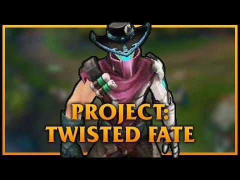 PROJECT: Twisted Fate LoL Custom Skin ShowCase