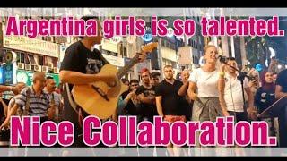 Gadis Argentina dapat sambutan hebat...dia minta subscribe La Loli Planet
