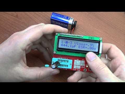 Подарок подписчика - прибор для радиодеталек :)