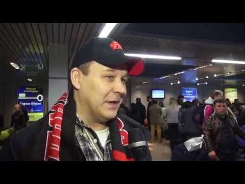 Встреча Раймо Сумманена в аэропорту