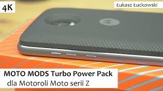 MOTO MODS Turbo Power Pack dodatkowa bateria dla Motoroli Moto serii Z