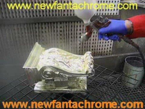 Newfantachrome effeto cromature e cromati con vernici