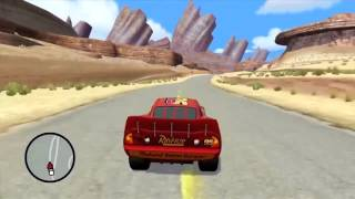 Disney Pixar Cars 1 (Video Game for kids) Speeding Cars & Fast cars with lightning rayo mcqueen