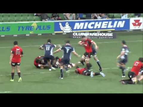Rebels vs Crusaders pre-Super Rugby season highlights