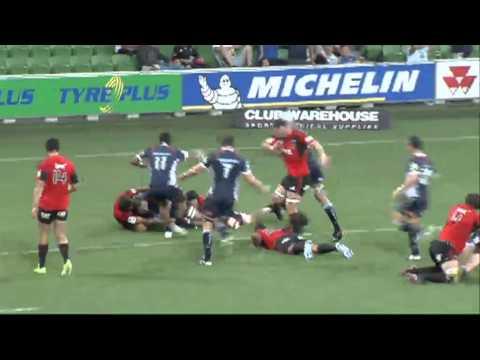 Rebels vs Crusaders pre-Super Rugby season highlights