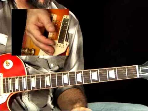 Blues Rock Guitar Lessons - Kings: Duane Allman - Andy Aledort - Statesboro Solo 1