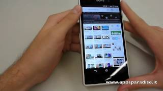 Recensione Sony Xperia Z1 ita by AppsParadise