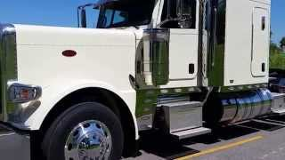 Brand New 2016 Peterbilt 389 Cream Flattop Owner Operator Spec