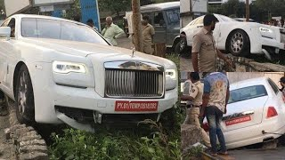 CRASHED EXOTIC CARS IN INDIA (FERRARI,LAMBORGHINI,ROLLS ROYCE)