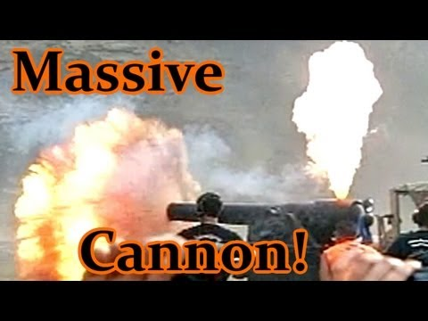 HUGE Black Powder Cannon at Knob Creek 2012