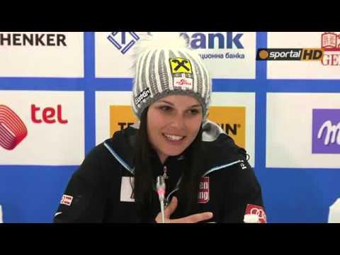 Anna Fenninger in Bansko