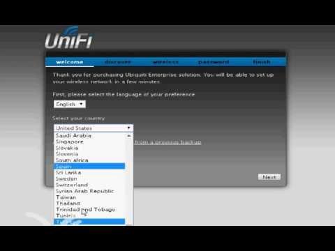 Video-Tutorial Instalación Unifi y configuración Antena AP Longe Range