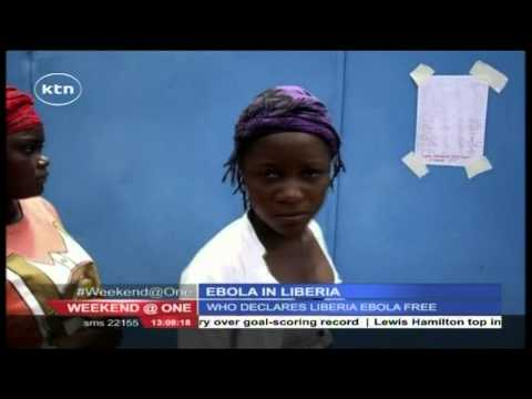 World Health Organization declares Liberia Ebola free