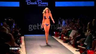 Kate Upton Beach Bunny Swimwear Fashion show 2011 #1