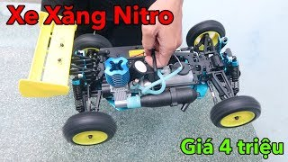 Lâm Vlog - Xe Điều Khiển Từ Xa Chạy Bằng Xăng Nitro Giá 4 triệu | NITRO RC CAR $200