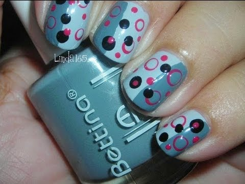 Nail Art - Dot... dot... dot... - Decoración de Uñas