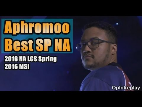 Aphromoo, Best Support NA Montage - 2016 NA LCS Spring / MSI