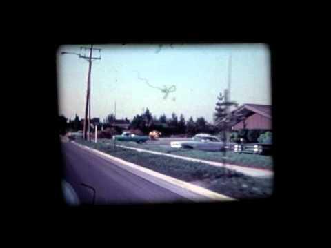 Sunnyvale by Car circa 1968