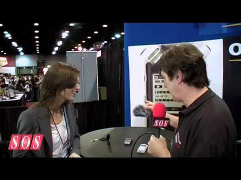 Olympus LS-11 Demo at Summer NAMM '09 Video