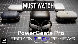 Are they worth it?  Powerbeats Pro Wireless Unboxing Review & Call Quality Test!