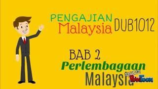 PENGAJIAN MALAYSIA BAB 2 PERLEMBAGAAN MALAYSIA